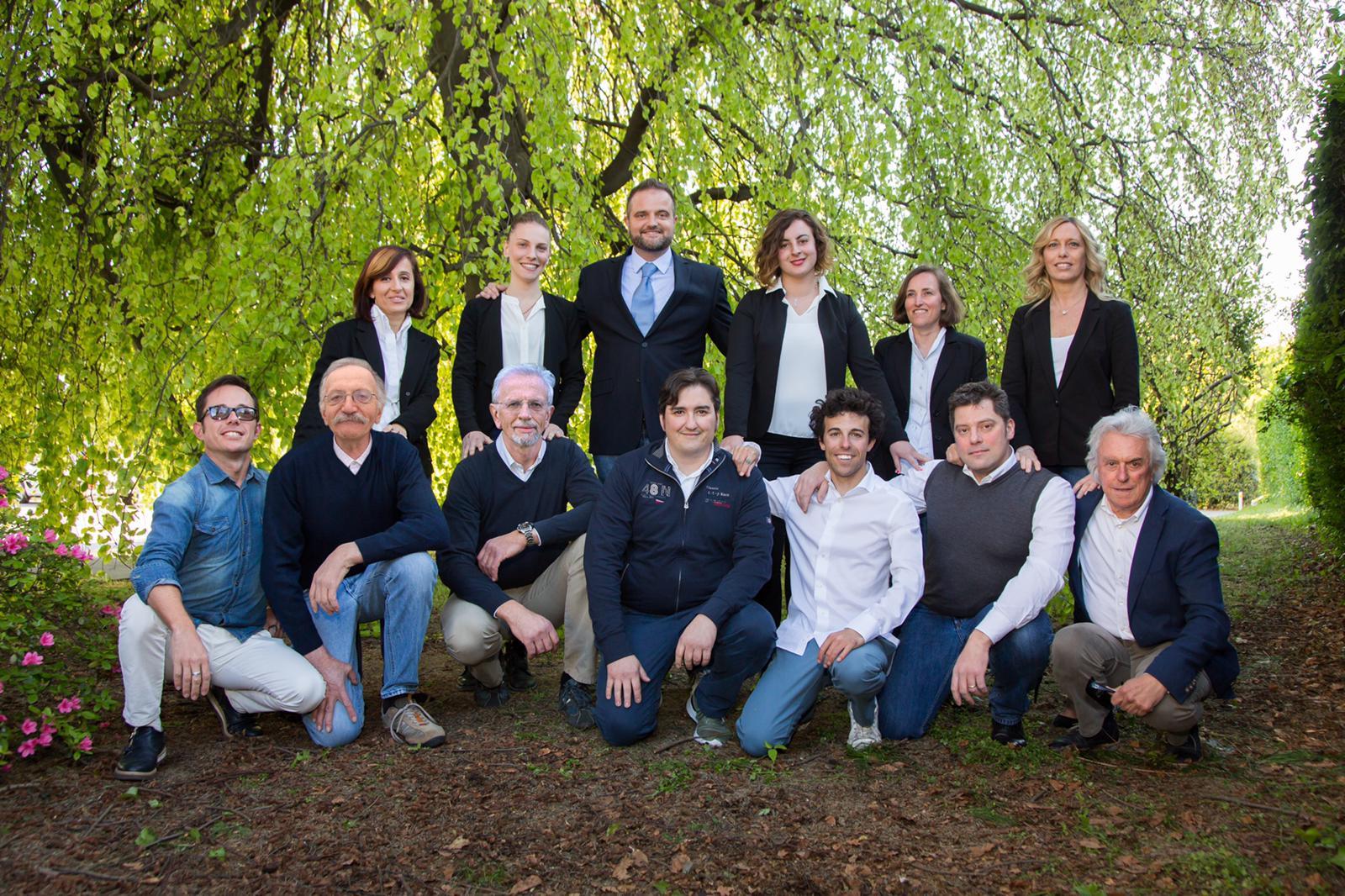 Tutti i candidati della lista Progetto Insieme Capiago Intimiano, capitanati da Emanuele Cappelletti